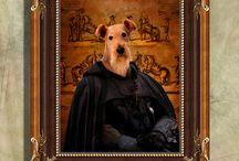 I ♥ Airedale Terrier / Airedale Terrier, Airedale Terrier Gifts, Airedale Terrier Products, Airedale Terrier Art, Airedale Terrier Painting, Airedale Terrier Gifts, Airedale Terrier Jewelry  https://www.etsy.com/shop/NobilityDogs