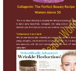 Collagenix Anti Aging Product / Collagenix anti aging product can help you maintain your skin's beauty even as you celebrate your 50th birthday
