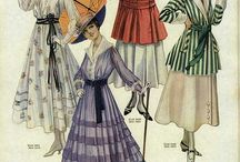 Vintage Images II / Early 20th Century Fashions