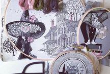 Ghastlies Embroidery / Ideas