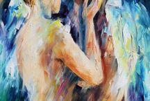 feelings  in canvas