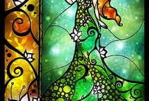 Stained Glass and graphic