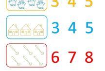 fichas para preescolar de todas las dimensiones / dibujos para elaborar fichas