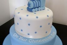 T jak torty na chrzest / torty na chrzest, christening cakes