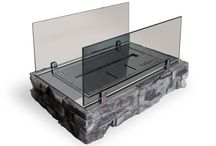 Free standing biofireplaces / Mobile biofireplaces, which are easy to set down or relocate to a most comfortable place.