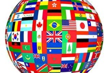 Flags around the world. / by Helen Howard