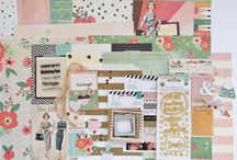 OOPS I Got A Run In My Pantyhose Kit! / A delightful papercrafting kit filled with lovely colors and textures, with a mix of eclectic and vintage flair!