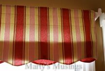 Curtain and Valence Ideas / by Tara Tarbet