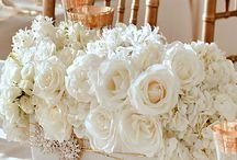 [WEDDING] Thème Hiver doré / Inspirations et idées pour un mariage sur le thème classique blanc et or.