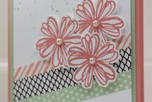 Washi tape cards / Are you like me and can't figure out how to us your rolls (and rolls and rolls) of Stampin'Up  washi tape? Here are some fabulous ideas!