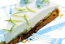 cheesecake, mousser og cremer