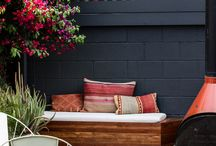 wall colours for backyard