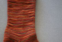 Hand cranked socks