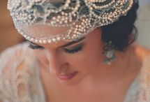 """Wedding Hair Accessories / The crowning glory for any Bride is what she places (firmly) on her head! Lots of ideas and inspiration to """"top"""" of your wedding day style"""