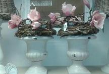 opgemaakte bloempotten