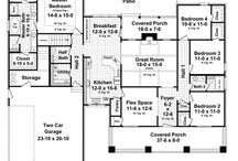 Architecture And House Plans / by Heidi Herchelroath