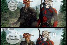 Adventures in Skyrim, Oblivion