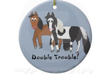 Cute Horse Gifts / Great horse gifts based off the book Riki and JR The Big Bad Scary Mud Puddle to find out more visit http://darlenepanzera.com