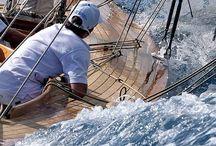 Yachty i morze