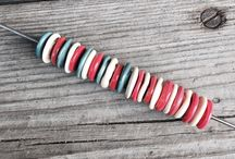 Beads by Hemaz / Lampwork beads made by me
