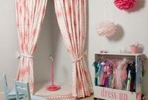 Little girls room ideas / by Michele Hall