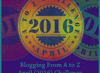 2016 April A to Z Challenge Blog Visits / Participating Blog Sites I've visited and enjoyed / by Gail Baugniet
