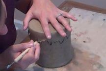 Pottery Halloween