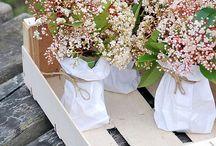 Flower Power / Decoración con flores naturales