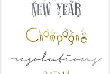 New Year's Fonts, Clipart, and Photoshop / Fonts, Clipart, and Photoshop Ideas for New Year's