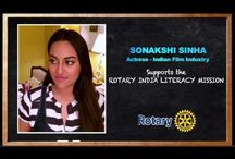 Rotary literacy Mission / Rotarians in India, united by the goal of achieving Total Literacy and Quality Education
