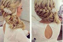 Trudis wedding hair