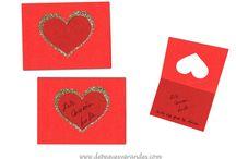 San Valentín / Manualidades para San Valentín