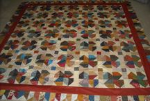 Antique and Civil War Reproduction Quilts / Fabrics, Quilts, and Blocks for Inspiration  / by Sheri Klouda