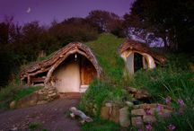 Homes for Hobbits  / homes all over the world