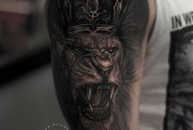 tatoo lion king