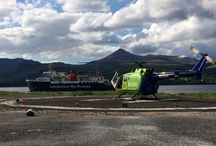 Helipads and Hospitals / Photos of Helimed76 at various hospitals and heliports
