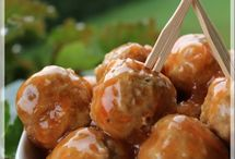 Boulettes de porc, sauce aigre-douce