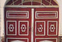 Beautiful doors of slovakia