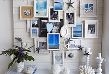 Summer photos wall decor