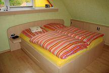 Schlafzimmer Möbel / Maßangefertigte Möbel aus Holz für Schlafzimmer