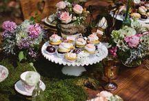 Garden-party wedding