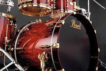 Drums set up!