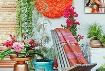 THEMA | Summer Festival / Dit vrolijke thema combineert felle kleuren met exotische planten.