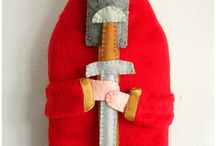 Clothespin, felt, bendy, peg dolls / Clothespin, felt, bendy, and peg dolls / by C Cram