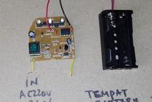 Rakitan Module Charger 2 Baterai [ In Ac220v Dan Dc Out 4.2v ]