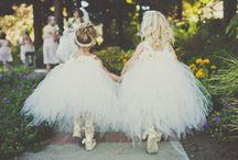 Bridesmaids and Flower girls