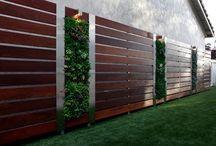 Muros ante jardin