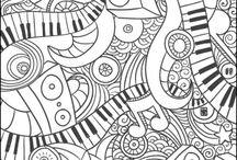 zenei színezők