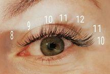 eyelash patern