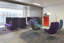 Soft Seating / Lounge areas to meeting spaces, reception areas to guest rooms, your choice of soft seating adds style, colour and texture anywhere in the office, creating places that encourage engagement and collaboration.